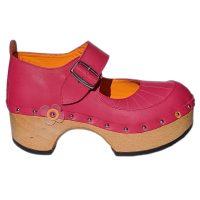 Handmade-Clog-Flower-OneBar-Pink-4
