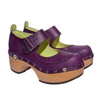 Handmade-Clog-Flower-OneBar-Purple-1