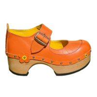 Handmade-Clog-Flower-OneBar-orange-1